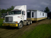 mobile home mover ,16 wide and down