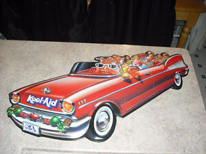 1957 CHEVY BELAIR CONVERTIBLE KOOL-AID RARE 3-D COLLECTIBLE