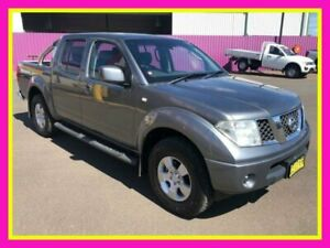 2010 Nissan Navara D40 ST (4x4) Grey 6 Speed Manual Dual Cab Pick-up Dubbo Dubbo Area Preview