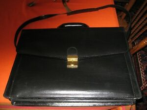 Black Brief Case with strap Kawartha Lakes Peterborough Area image 1
