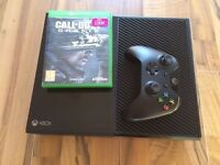 xbox one 500 console , one controller , cables & 5 games , perfect woking condition ! swap for ps4