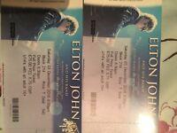 2xELTON JOHN TICKETS Newcastle 3/12/16