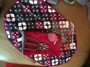 JJ Cole diaper bag Burgundy, grey & black West Island Greater Montréal image 10