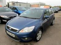 2009 Ford Focus Hatch 5Dr 1.8 125 Style Petrol blue Manual