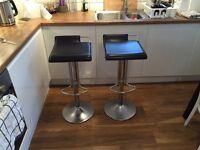 2 high quality bar stools