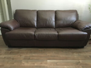 Leather Sofa - Mint condition