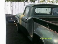 1961 Ford F100 side step truck