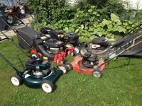 Working lawnmowers for sale