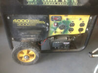 3000W Champion Generator with battery start