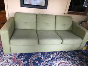 Three seater sleeper sofa. Excellent shape.