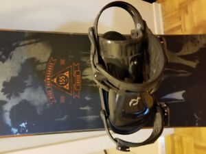 Ride snowboard with bindings 155cm
