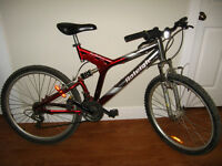 "21-speed Raleigh Mountainbike, 20"" frame"