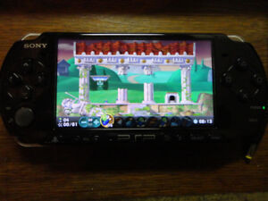 PSP 3001 with 6 games