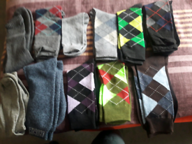 Men's casual socks size 7 10 pairs new