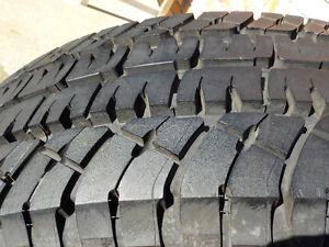 4 - Michelin LTX tires LT265/70R/18 A/T-2 (M+S) load range E