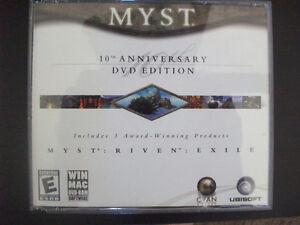 Myst 10th Anniversary DVD Edition For PC or Mac