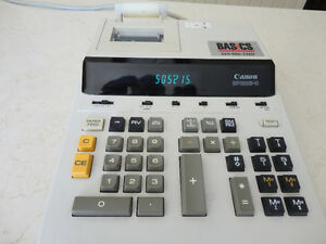 Canon BP-1225-D Desktop Calculator Adding machine -Works perfect Kitchener / Waterloo Kitchener Area image 3