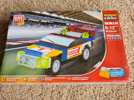 Block Tech Racing Car 6-12 years