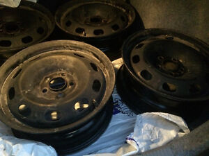 RIMS: Nearly New for winter tires Kingston Kingston Area image 1