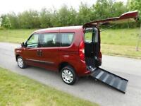 2014 64 Fiat Doblo 1.6 Multijet 4 Seats WHEELCHAIR ACCESSIBLE VEHICLE WAV