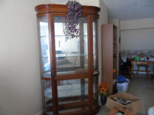 display case/ china cabinet