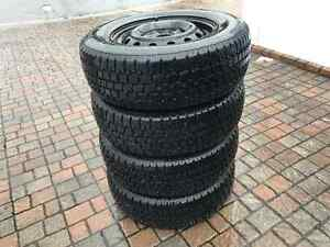 4*195/70R14 - Winter Tires + Rims with GOOD CONDITION! West Island Greater Montréal image 6