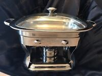 3.7 Ltr Stainless Steel Chafing Dish (x5 Sets)