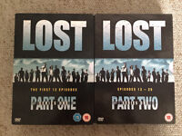Lost DVDs- Complete Series One 8 discs