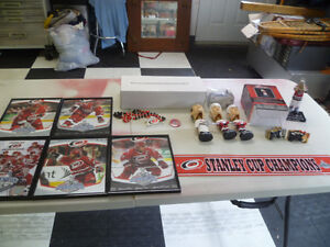 Carolina Hurricanes Memrobilia $5.00 to $15.00 Each.