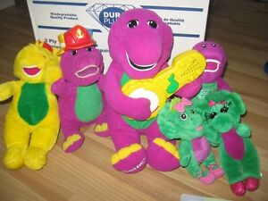 Barney VHS, DVD, Books and Toys