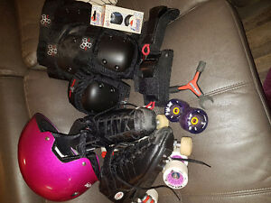 Roller Derby Gear worn 3 times!!! Bought at Bad Girlfriend skate