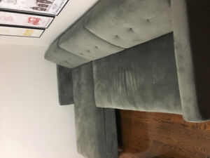 Sectional couch for sale—only used for a few months