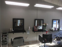 Stylist chair for rent in newly renovated salon!