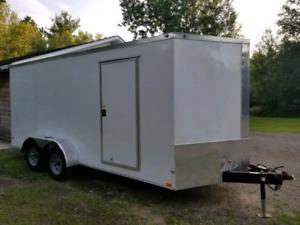 2018 diamond cargo trailer 7x16