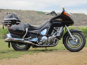 1983 Yamaha XVZ12TK VENTURE touring bike, stored in heated shop.