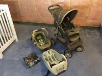 Stroller and car seat combo for sale!