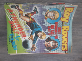 Roy of the Rovers magazines