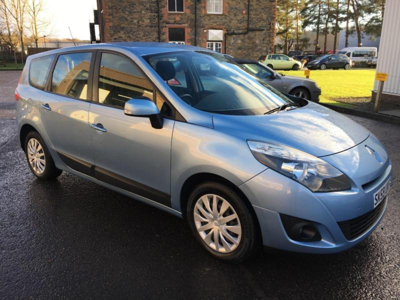 5909 Renault Grand Scenic 1.5dCi 106bhp Expression Blue