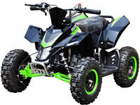 ELECTRIC BATTERY 1000 WATT2017 style mini RAPTOR MK2 \MIDI moto quad bikes kids UK