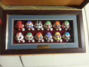 CHINESE  OPERA  MASKS  ...  FRAMED