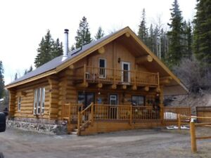Handcrafted Log Home for Sale