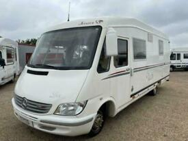 Le Voyageur A-Class 4 berth Rear fixed bed motorhome for sale