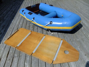 Achilles  Inflatable   9 FT Long  LIKE NEW BOAT !!!!