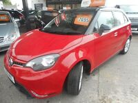 MG 3 3 FORM SPORT VTI-TECH (red) 2016