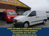 2012 12 MERCEDES-BENZ VITO MERCEDES BENZ VITO LWB 113 CDI VAN LOW MLS FREE WARRA