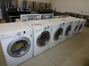 CHRISTMAS SPECIAL ON ALL FRONT LOADS WASHERS DRYERS HUGE SALE!!!