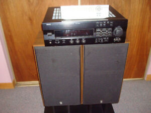 Yamaha receiver RXV 592 and Yamaha speakers NS 625