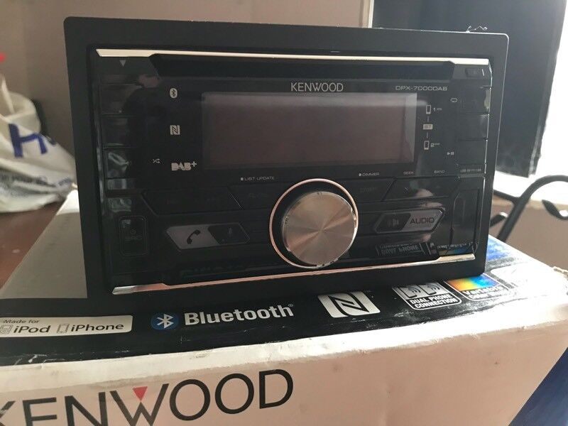 kenwood dpx-7000dab double din. ford focus 2008 fitting kit inc