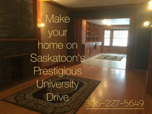 IMAGINE LIVING ON UNIVERSITY DR IN A RENOVATED CHARACTER HOME!!