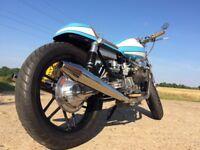 Cafe Racer Moto Guzzi Fantastic To Ride ,Fully rebuilt custom Bike.